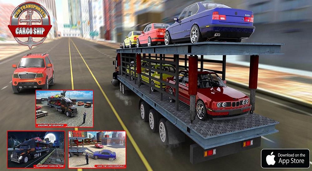 Car Transporter Euro Truck Simulator